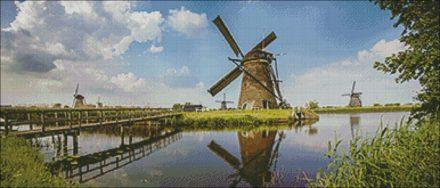 BSH P Kinderdijk patroon