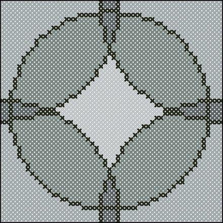 Eindeloze cirkels  patroon