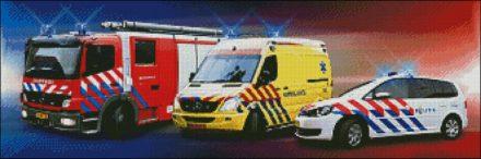 Hulpdiensten patroon