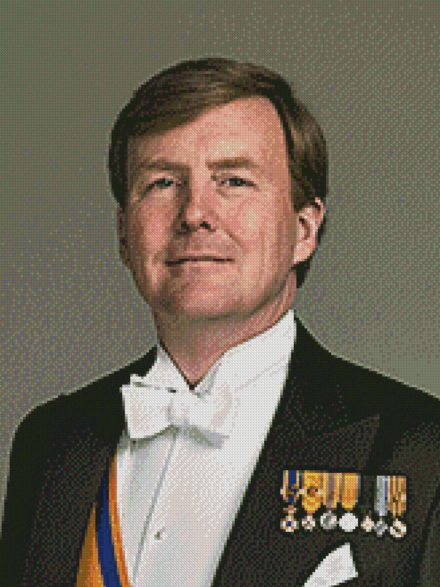 Koning Willem Alexander patroon