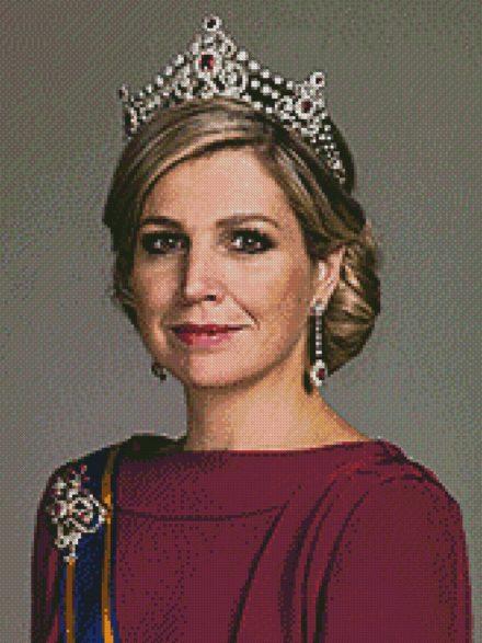 Koningin Maxima patroon