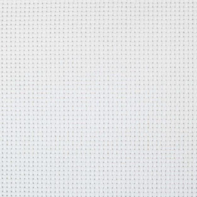 aida borduurstof wit closeup